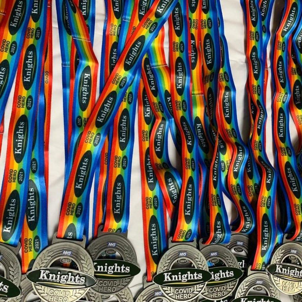volunteer ceremony medals